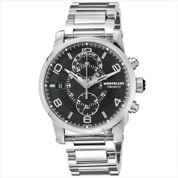Montblanc ■腕時計 TIMEWALKER ブラック 104286
