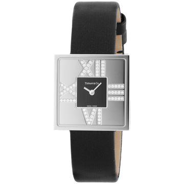 ティファニー ■腕時計 AtlasCocktailSquareLady ブラック Z1950.10.40E10A40E
