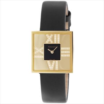 ティファニー ■腕時計 AtlasCocktailSquareLady ブラック Z1950.10.50E10A40E