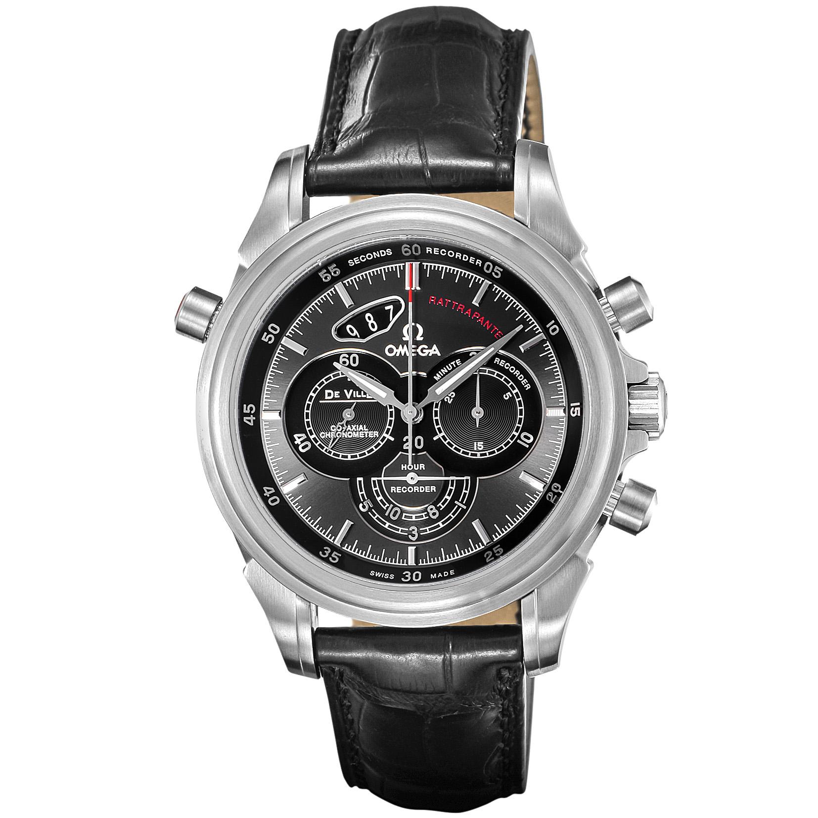 OMEGA(オメガ) ■腕時計 デ・ビル メンズ グレー 422.13.44.51.06.001