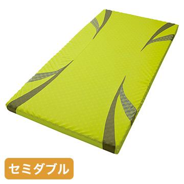 nishikawa ■AiR マットレス イエロー 高反発 厚み8cm セミダブル HC19551622