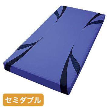 nishikawa ■AiR ベッドマットレス ブルー 高反発 厚み14cm セミダブル HC19801637