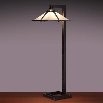 ヤマギワ ■Frank Lloyd Wright(フランクロイドライト)「TALIESIN 1 FLOOR(タリアセン 1 フロアー)」ブラック 322S7392
