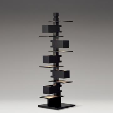 ヤマギワ ■Frank Lloyd Wright(フランクロイドライト)「TALIESIN 3(タリアセン 3)」ブラック 322S7348