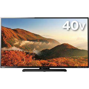 12/11 1時59分までエントリーポイント7倍 三菱 40V型液晶テレビ REAL LCD-40ML8H