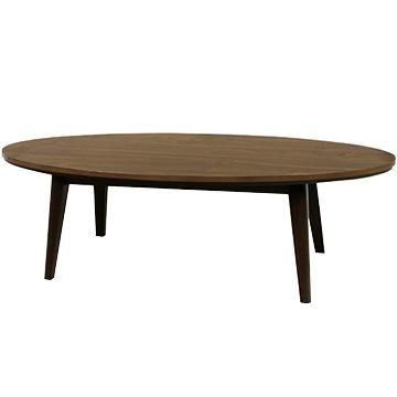 東谷 こたつ テーブル 円形タイプ 120cm (ウォールナット) 120WAL