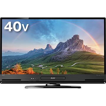 三菱 40V型録画液晶テレビ REAL LCD-A40BHR10
