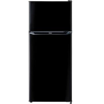 【期間限定 エントリーでP5倍】 ハイアール 2ドア冷蔵庫 130L 直冷式 ブラック【配送のみ設置無し 軒先渡し】 JR-N130A-K