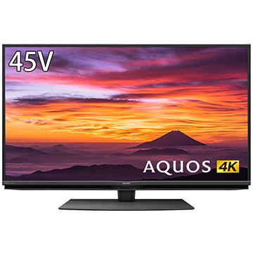 12/11 1時59分までエントリーポイント7倍 シャープ AQUOS 45V型4K液晶テレビ 新4K衛星放送チューナー内蔵 BN1ライン 4T-C45BN1
