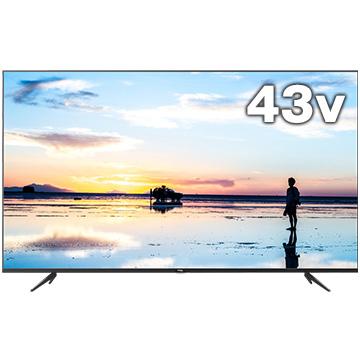 12/11 1時59分までエントリーポイント7倍 TCL 4K対応 43型液晶テレビ K60シリーズ 43K600U