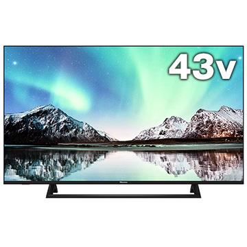 Hisense 43V型4K液晶TV BS/CS4Kチューナー内蔵 E6800シリーズ 43E6800