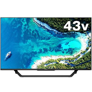 Hisense 43V型4K液晶TV BS/CS4Kチューナー内蔵