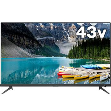 TCL P815シリーズ 43型4K対応液晶テレビ