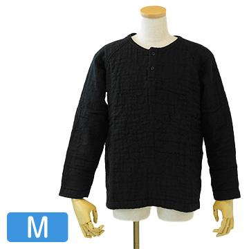 UCHINO マシュマロワッフルガーゼ メンズ トップス M ブラック RTF95358M-Bk