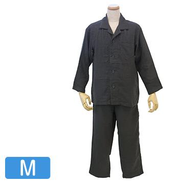 UCHINO マシュマロガーゼ メンズパジャマ ダークグレー M RP15680M