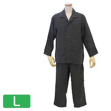 UCHINO マシュマロガーゼ メンズパジャマ ダークグレー L RP15680L