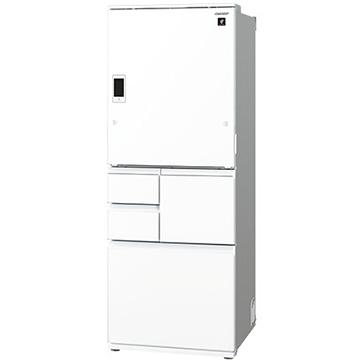 シャープ 【どっちもドア】5ドア冷蔵庫(502L)ピュアホワイト【大型商品(設置工事可)】 SJWX50D-W