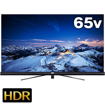 12/11 1時59分までエントリーポイント7倍 TCL 4K対応 65型液晶テレビ C60シリーズ【大型商品(設置工事可)】 65C600U