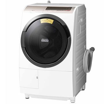 日立 ドラム式洗濯乾燥機 (洗濯11kg 左開きタイプ) シャンパン【大型商品(設置工事可)】 BD-SV110CL-N