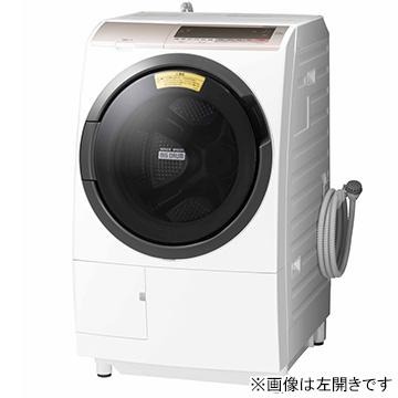 日立 ドラム式洗濯乾燥機 (洗濯11kg 右開きタイプ) シャンパン【大型商品(設置工事可)】 BD-SV110CR-N