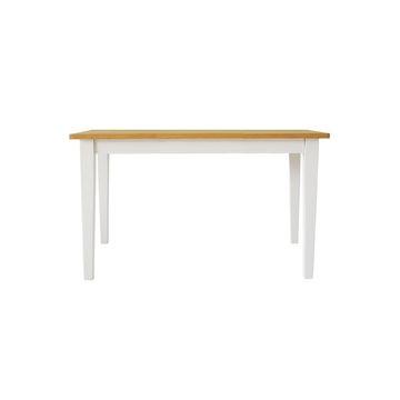 関家具 ■【mam】 ダイニングテーブル クレソン ホワイト/ナチュラル 135cm【大型商品(設置工事可)】 138746