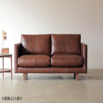 関家具 ■【NOWHERE LIKE HOME】 2Pソファ バロウ 革ブラウン【大型商品(設置工事可)】 234541