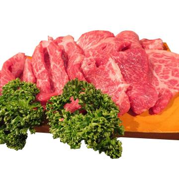 食肉の店福田屋 信州プレミアム牛もも焼肉用600g TW2080183572