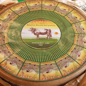 レクリュ―ズ (東京)フランス産コンテ熟成ナチュラルチーズ食べ比べ(10ヶ月、18ヶ月、30ヶ月)