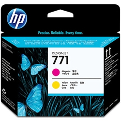 HP HP771 プリントヘッド マゼンタ /イエロー CE018A