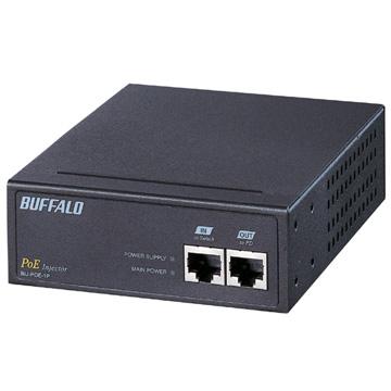 バッファロー IEEE802.3af対応 PoEインジェクタ 1CHタイプ BIJ-POE-1PR