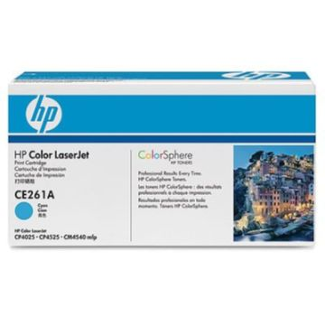 HP 648A シアン トナーカートリッジ(CP4525) CE261A