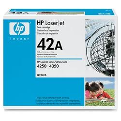 HP(Inc.) トナーカートリッジ(LJ4240/4250/4350用) Q5942A