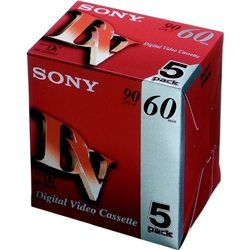 SONY ミニDVカセット 60分 ICメモリーなし 5本組 5DVM60R3