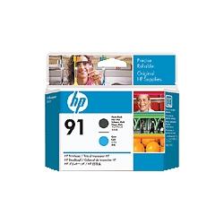 HP HP 91プリントヘッド マットブラック/シアン C9460A