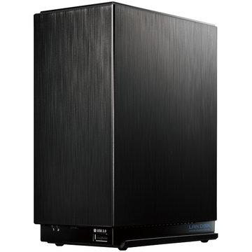 アイ・オー・データ機器 デュアルコアCPU 超高速2ドライブNAS 2TB HDL2-AA2