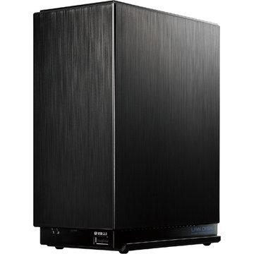 アイ・オー・データ機器 デュアルコアCPU搭載 2ドライブ高速ビジネスNAS 6TB HDL2-AA6W