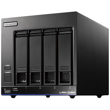 アイ・オー・データ機器 高性能CPU&「WD Red」搭載 4ドライブNAS 12TB HDL4-X12