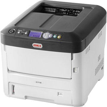 OKIデータ A4カラーLEDプリンタ ハイスペックモデル C712DNW