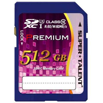 SUPERTALENT UHS-I SDXCカード 512GB CL10 ST12SU1P