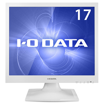 アイ・オー・データ機器 フリッカーレス 17型スクエア液晶ディスプレイ(保護ガラス付) LCD-AD173SESW-P