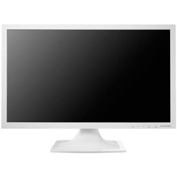 IODATA 20.7型ワイド液晶ディスプレイ(スピーカー搭載) ホワイト LCD-MF211ESW