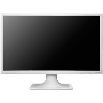 IODATA 23.8型ワイド液晶ディスプレイ ホワイト LCD-MF244EDSW