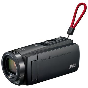 JVCケンウッド 64GBハイビジョンメモリームービー(マットブラック) GZ-RX670-B