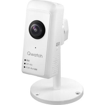 【期間限定 エントリーでP5倍】 アイ・オー・データ機器 180度パノラマビュー対応ネットワークカメラ「Qwatch」 TS-WRFE