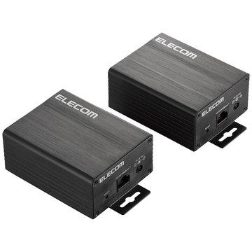 ELECOM PoE対応同軸コンバーター ECB-G01CX-HJP