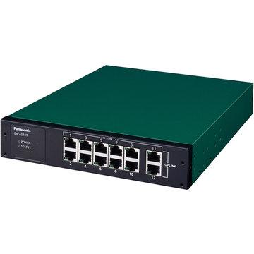 パナソニックLSネットワークス 12ポート L2スイッチ GA-AS10T PN25101