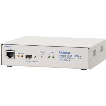 明京電機 ネットワーク監視・自動リブート装置 WATCH BOOT nino RPC-M2CS