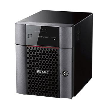 バッファロー 小規模オフィス・SOHO向け 4ドライブNAS 2TB TS3410DN0204