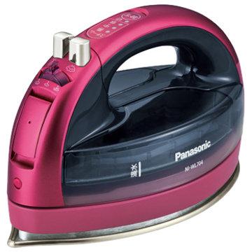 パナソニック コードレススチームアイロン (ピンク) NI-WL704-P