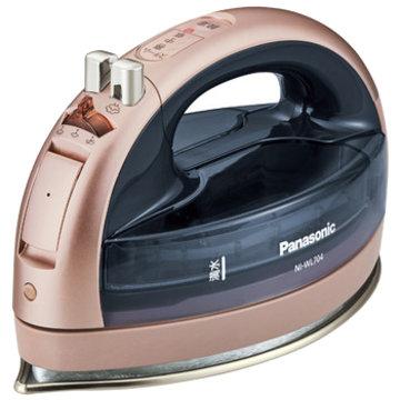 【期間限定 エントリーでP10倍】 パナソニック コードレススチームアイロン (ピンクゴールド) NI-WL704-PN